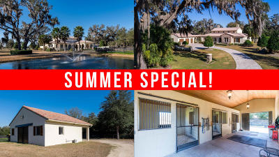 Dunnellon Farm For Sale: 12561 SW 140 Loop