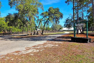 Dunnellon Farm For Sale: 7005 W Adirondack Street