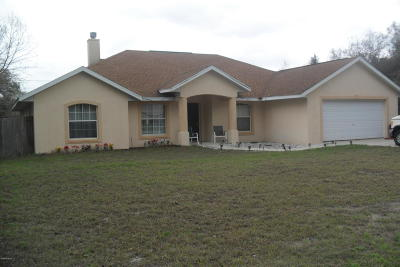Single Family Home For Sale: 15735 SW 19th Terrace