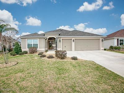 The Villages Single Family Home For Sale: 1521 Walnut Way