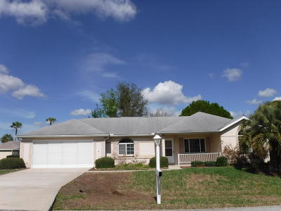 Ocala Palms Single Family Home For Sale: 5235 NW 20th Place
