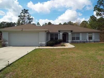 Dunnellon Single Family Home For Sale: 7782 SW 204th Avenue