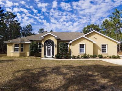 Ocala Single Family Home For Sale: 12271 SW 64th Street