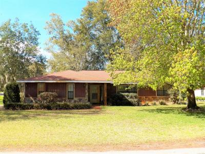 Dunnellon Single Family Home For Sale: 11860 Camp Drive