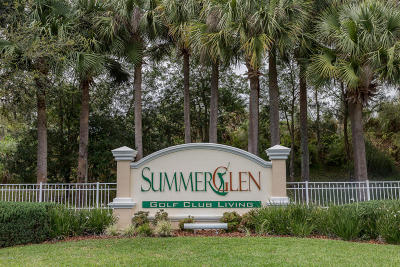 Summerglen Single Family Home For Sale: 15621 SW 14th Avenue Road