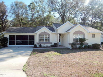 Ocala Single Family Home For Sale: 8035 SW 116th Loop