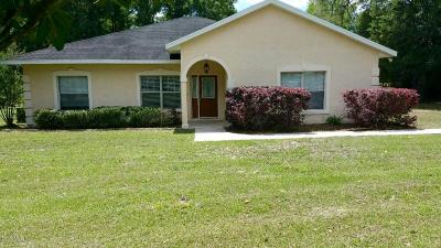 Citra Single Family Home For Sale: 1050 NE 165 Street