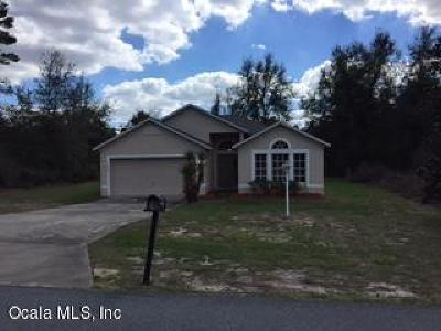 Ocala Single Family Home For Sale: 13702 SW 43rd Circle