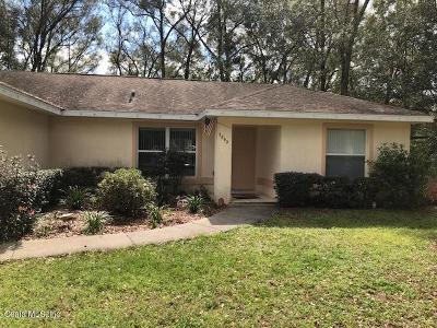 Summerfield Single Family Home For Sale: 3892 SE 139th Street