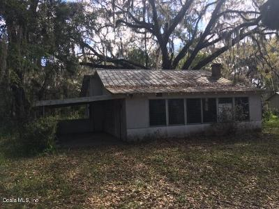 Ocklawaha Single Family Home For Sale: 12369 SE 130th Court
