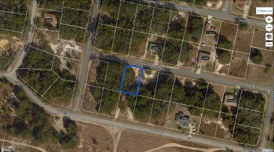 Ocala FL Residential Lots & Land For Sale: $9,979