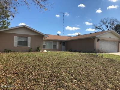 Ocala Single Family Home For Sale: 15335 SW 43rd Ave Road