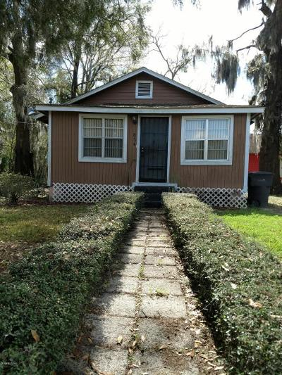 Ocala Single Family Home For Sale: 814 NW 2 Street