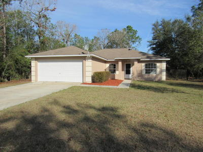 Summerfield Single Family Home For Sale: 8725 SE 159th Lane