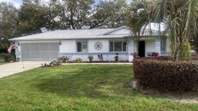 Ocala FL Single Family Home For Sale: $97,000