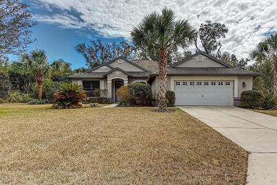 Dunnellon Single Family Home For Sale: 19560 SW 77th Place