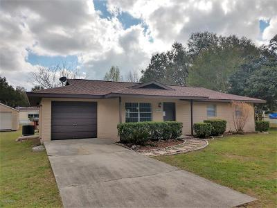 Summerfield FL Single Family Home For Sale: $108,900