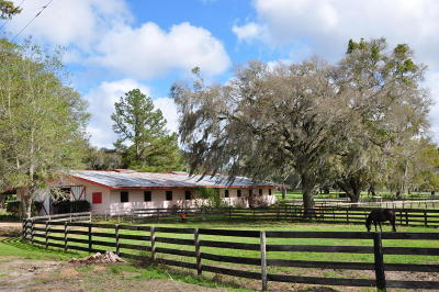 Farm For Sale: 13704 NW Gainesville Road