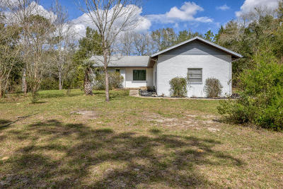 Dunnellon Single Family Home For Sale: 20151 SW 95th Street