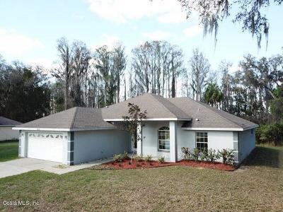 Dunnellon Single Family Home For Sale: 4355 W Dunnellon Road