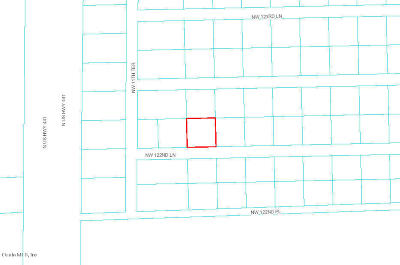 Citra Residential Lots & Land For Sale: NW 122nd Lane
