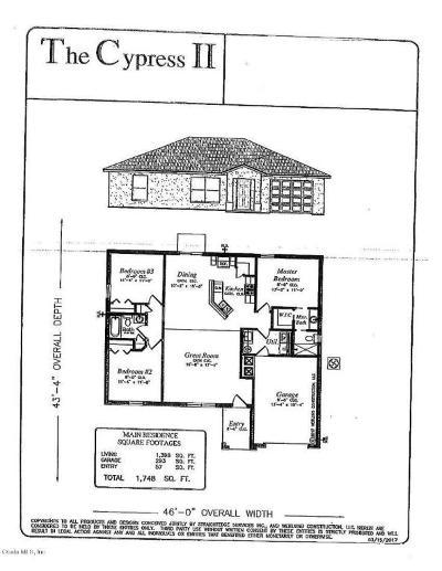 Ocala Single Family Home For Sale: 14 Bahia Pass Loop