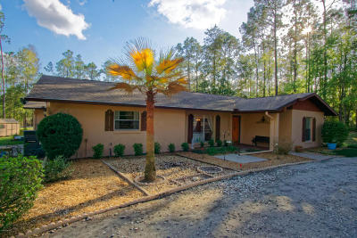 Dunnellon Single Family Home For Sale: 20840 SW 88th Place Road