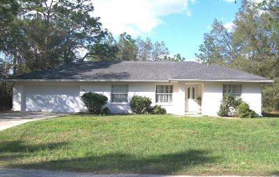 Marion Oaks North Single Family Home For Sale: 7811 SW 128 St.rd
