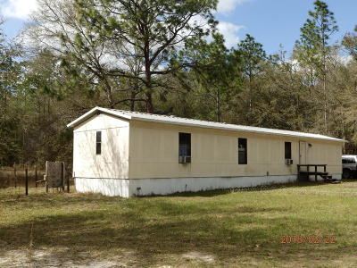 Dunnellon Mobile/Manufactured For Sale: 3291 SW 189th Avenue