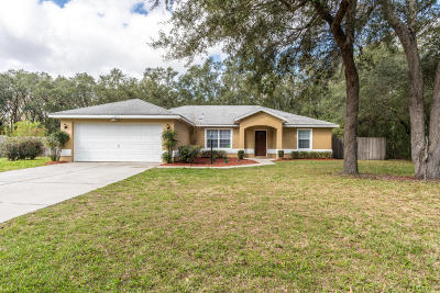 Ocala Single Family Home For Sale: 14216 SW 45th Circle