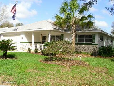 Ocala Single Family Home For Sale: 8707 SW 95th Lane #G