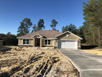 Ocala Single Family Home For Sale: 4165 SW 106th Place