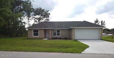 Ocala Single Family Home For Sale: 15 Chestnut Run