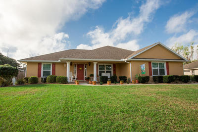 Belleview Single Family Home For Sale: 4260 SE 106 Street