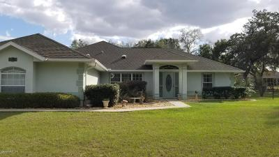 Summerfield Single Family Home Pending-Continue to Show: 14338 SE 100 Ave
