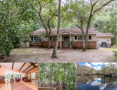 Citrus County Single Family Home For Sale: 4275 E Riverside Drive