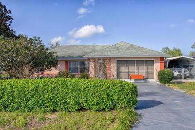 Ocala FL Single Family Home For Sale: $155,000