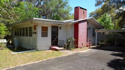 Salt Springs Single Family Home For Sale: 25140 NE 133 Place