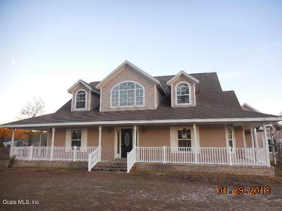 Williston FL Single Family Home For Sale: $385,000