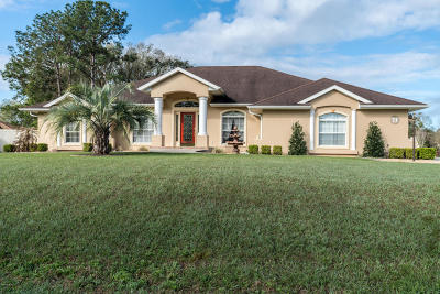 Ocala Single Family Home For Sale: 71 Hickory Loop Way