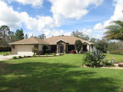 Dunnellon Single Family Home For Sale: 8490 SW 136 Terrace
