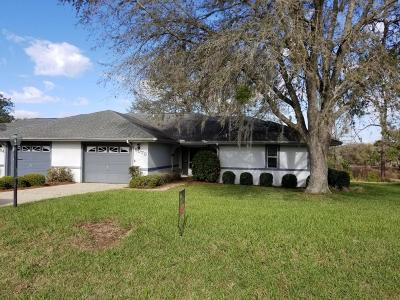 Rainbow Spgs Cc Single Family Home For Sale: 9070 SW 192nd Court Road