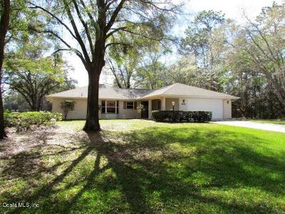 Rainbow Spgs Cc Single Family Home For Sale: 19328 SW 93 Lane Road