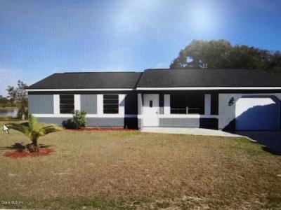 Ocala Single Family Home For Sale: 1113 Hickory Road