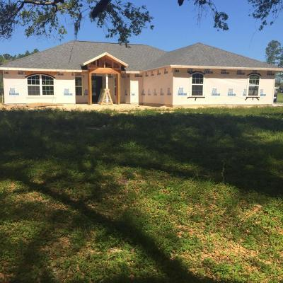 Williston FL Single Family Home For Sale: $215,000
