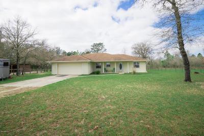 Morriston Single Family Home For Sale: 1950 SE 130th Avenue