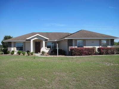 Belleview Single Family Home For Sale: 10597 SE 74th Terrace
