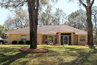 Dunnellon Single Family Home For Sale: 9757 SW 198th Circle