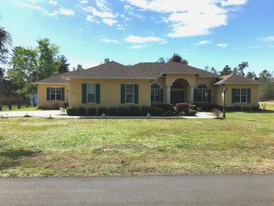 Single Family Home Sold: 2700 SW 178th Street