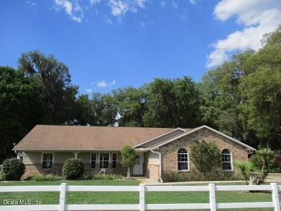 Summerfield Single Family Home For Sale: 6889 SE 135th Street